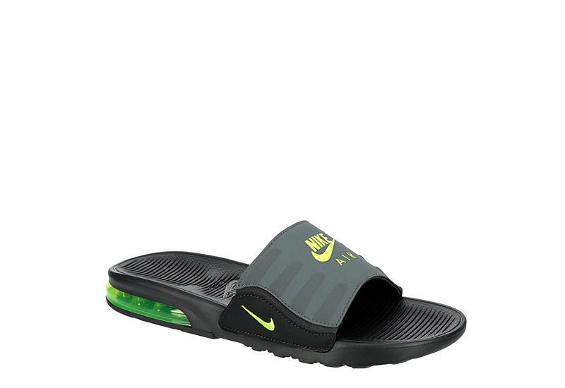 GREY NIKE Mens Am Camden Slide Sandal