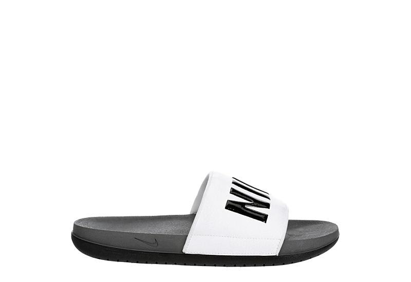 NIKE Mens Offcourt Slide - WHITE