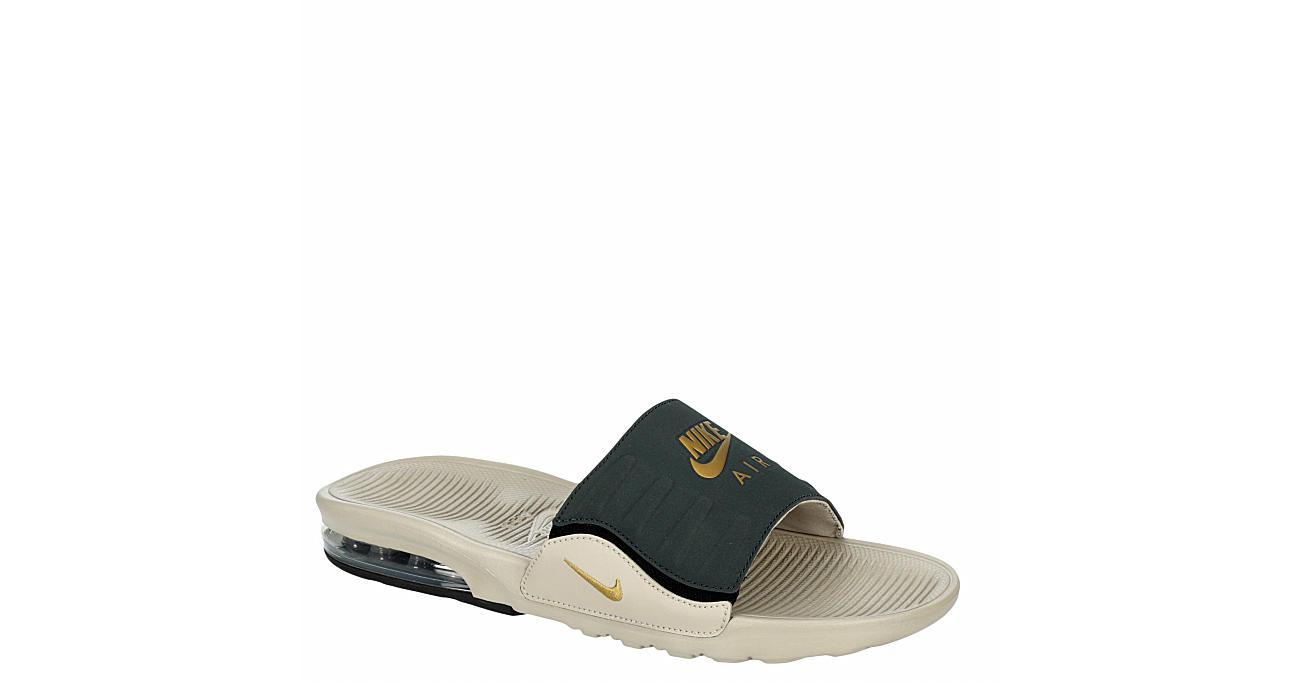 Natural Nike Mens Am Camden Slide Sandal   Slides   Rack Room Shoes