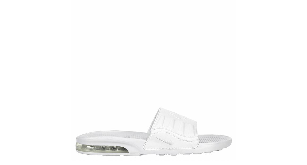 Nike Mens Air Max Camden Slide Sandal - White