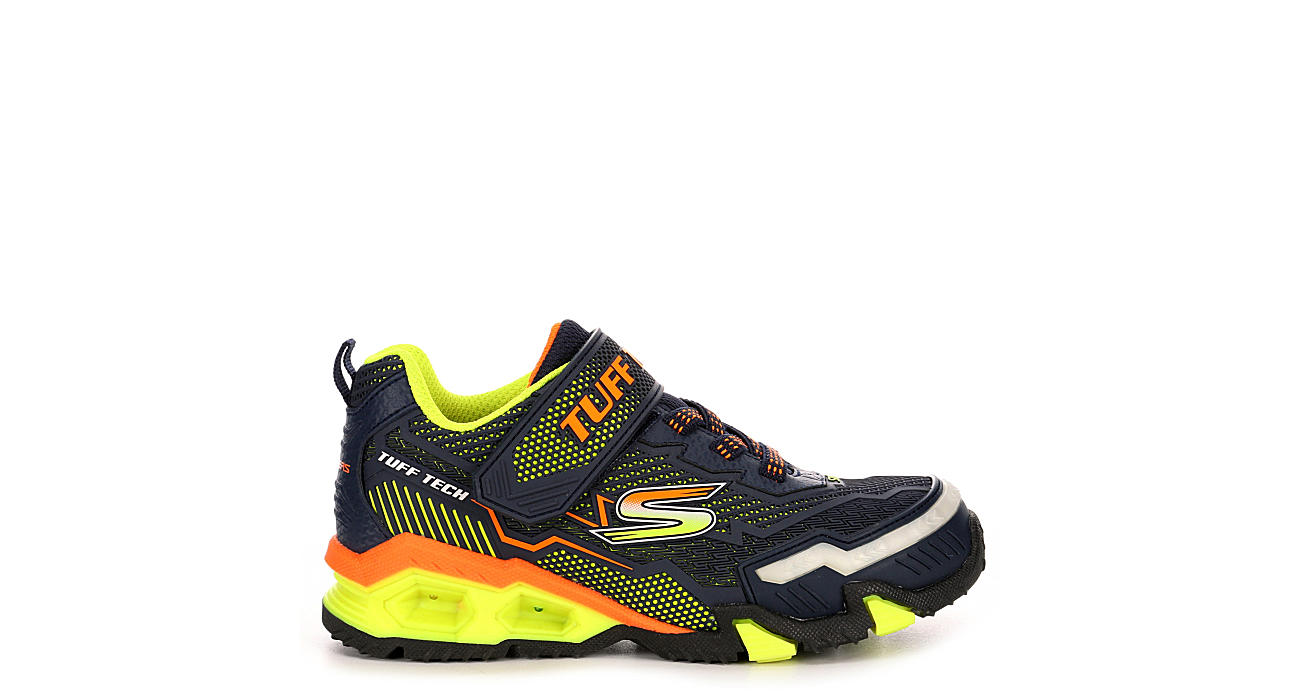 SKECHERS Boys Hydro Lights - NAVY
