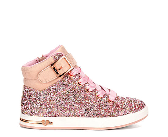 Girls Shoutouts - Sparkle On Top High Top Sneaker