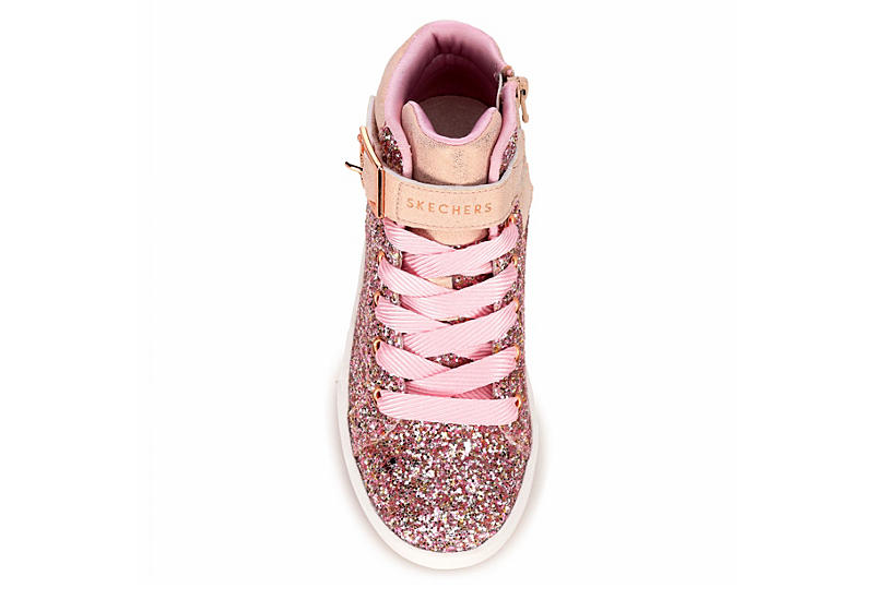 SKECHERS Girls Shoutouts - Sparkle On Top - ROSE GOLD
