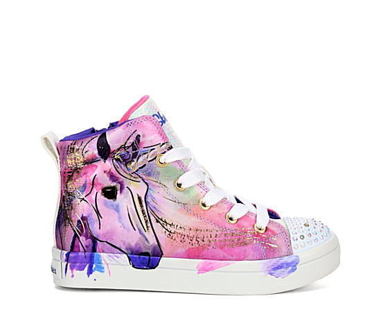 Girls Twinkle Toes Twi-lites - Unicorn Splash