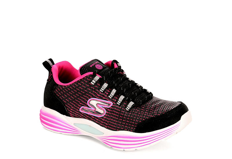 73921fc6397e Skechers Girls Luminators - Black
