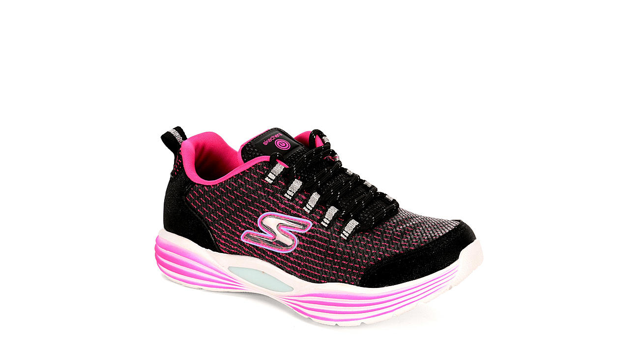 SKECHERS Girls Luminators - BLACK