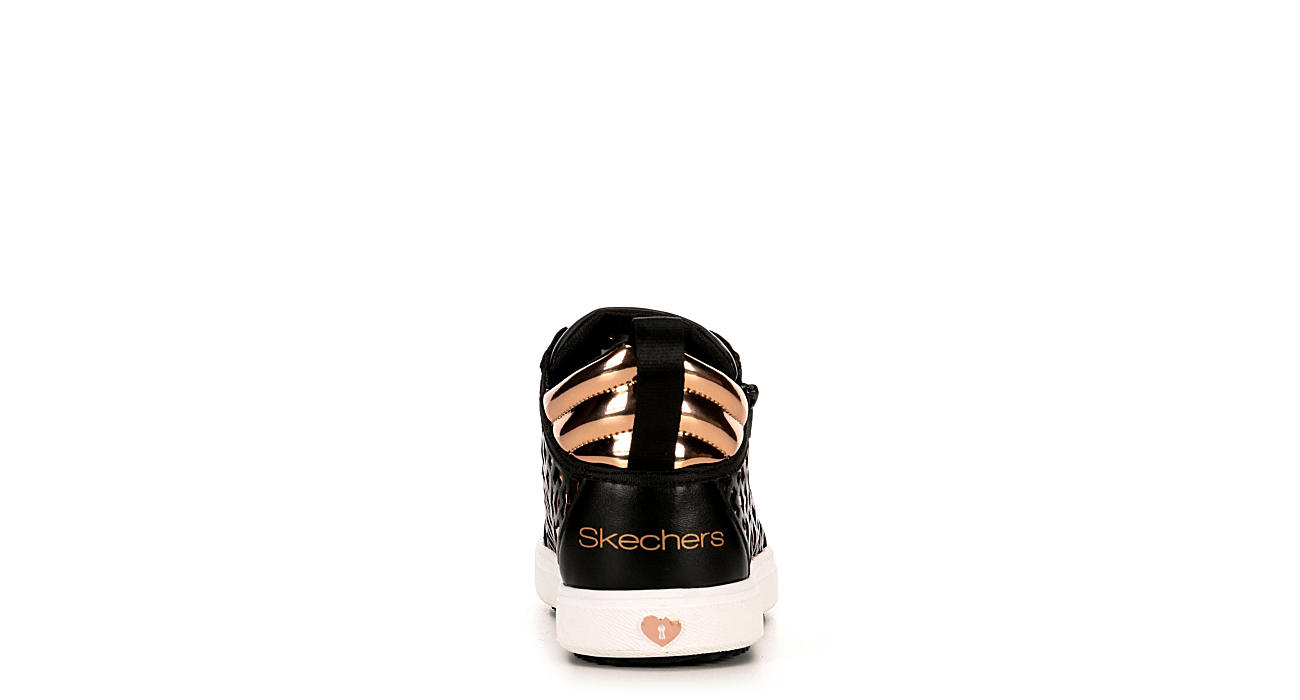SKECHERS Girls Shoutouts 2.0 - Midtop Magic - BLACK