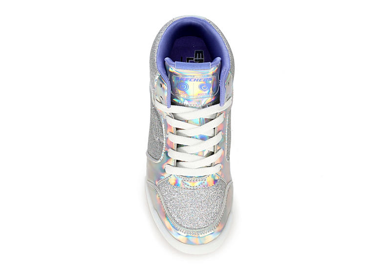 SKECHERS Girls Energy Lights E-pro Ii - SILVER