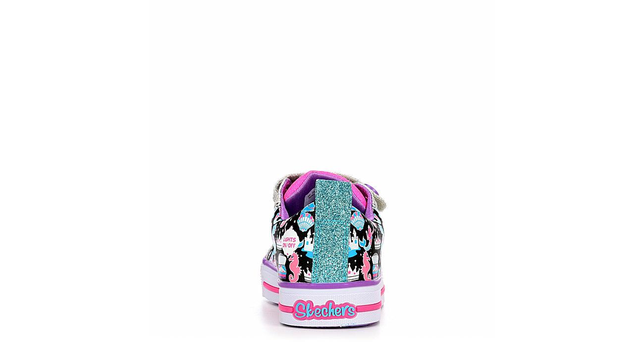 SKECHERS Girls Twinkle Toes Twinkle Lite - Miss Magical - NAVY