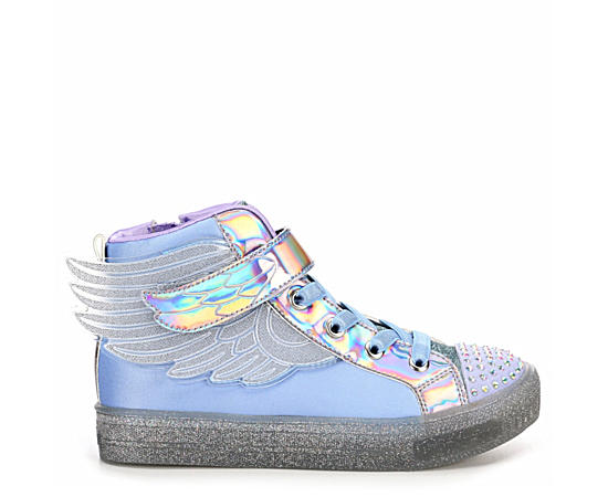 Girls Twinkle Toes Shuffle Brights - Sparkle Wings