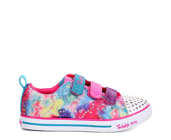 Girls Twinkle Toes Sparkle Lite - Rainbow Brights