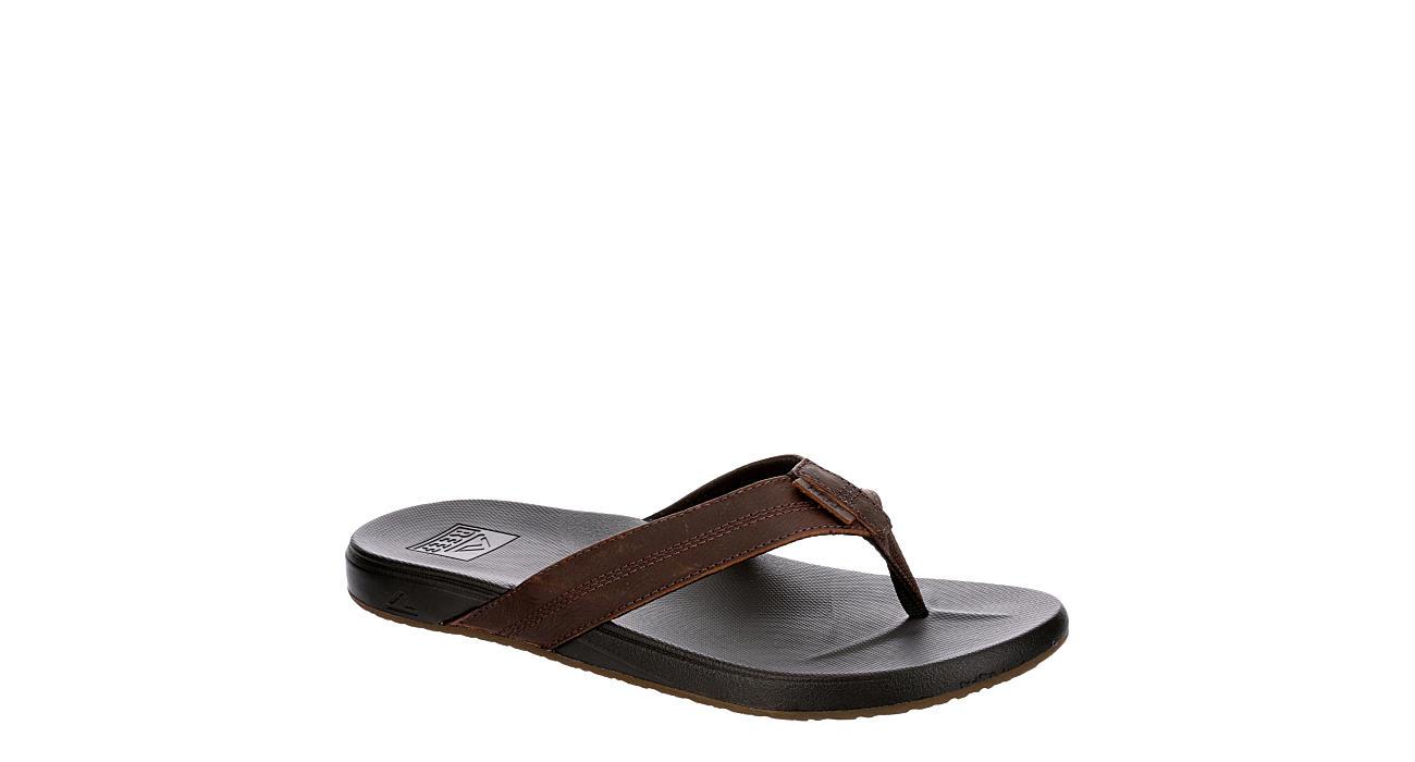 best website exclusive deals top brands Black Reef Mens Cushion Bounce Phantom Le | Sandals | Rack Room Shoes