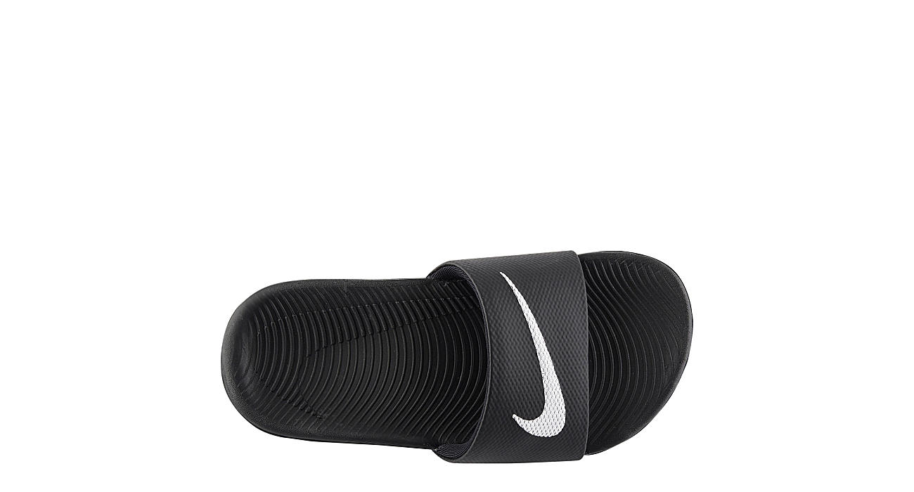 cd89ac06f33cd Nike Boys Kawa Slide - Black