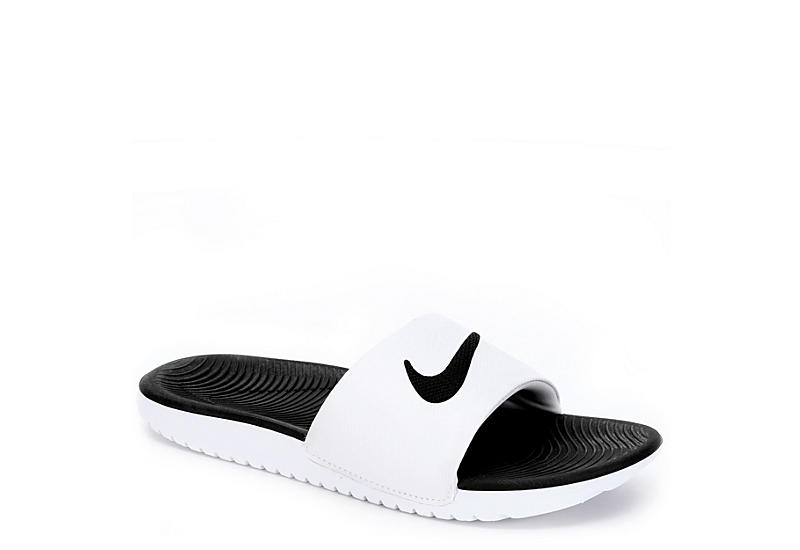low priced 7d105 16e4d Nike Boys Kawa Slide