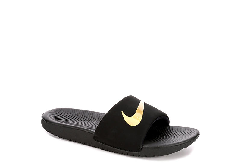 d2a7298d05ad8 Nike Boys Kawa Slide - Black