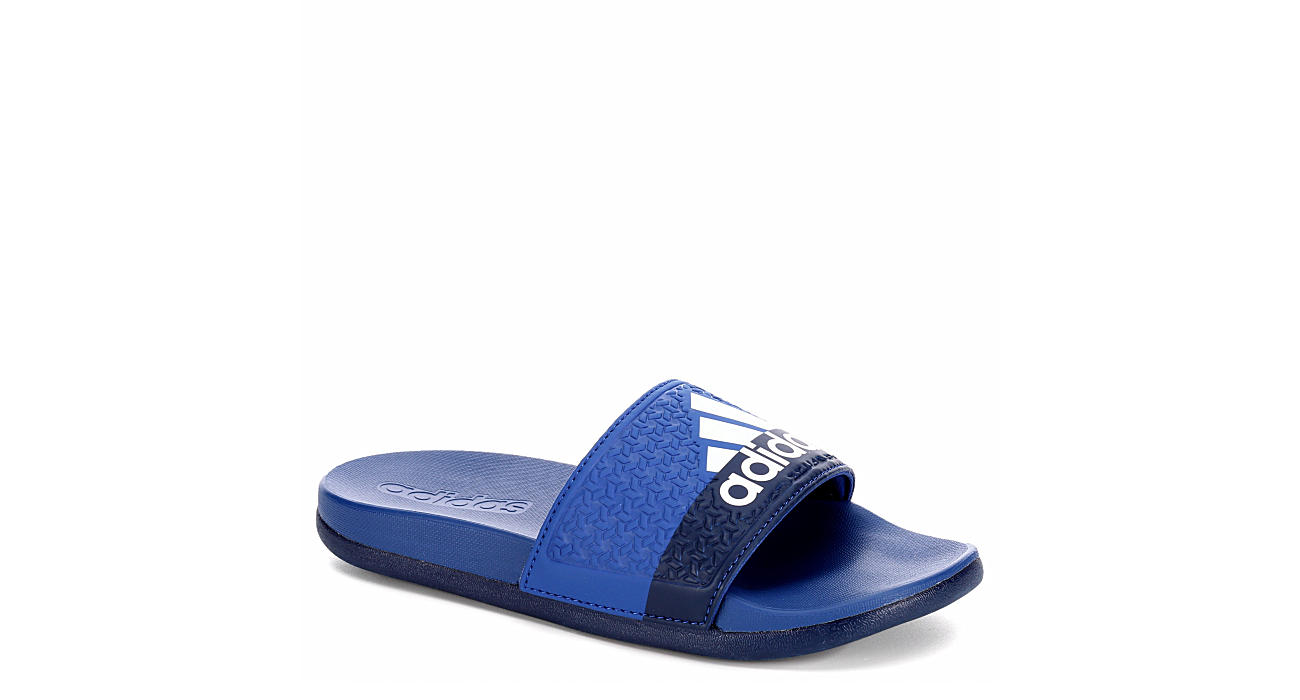 ADIDAS Boys Adilette - BLUE