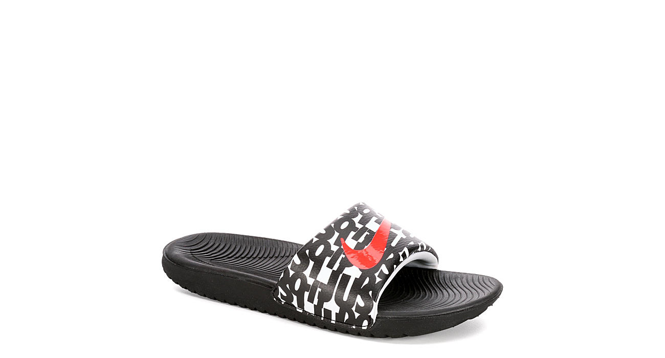 e68747c91c1f Nike Boys Kawa Slide - White