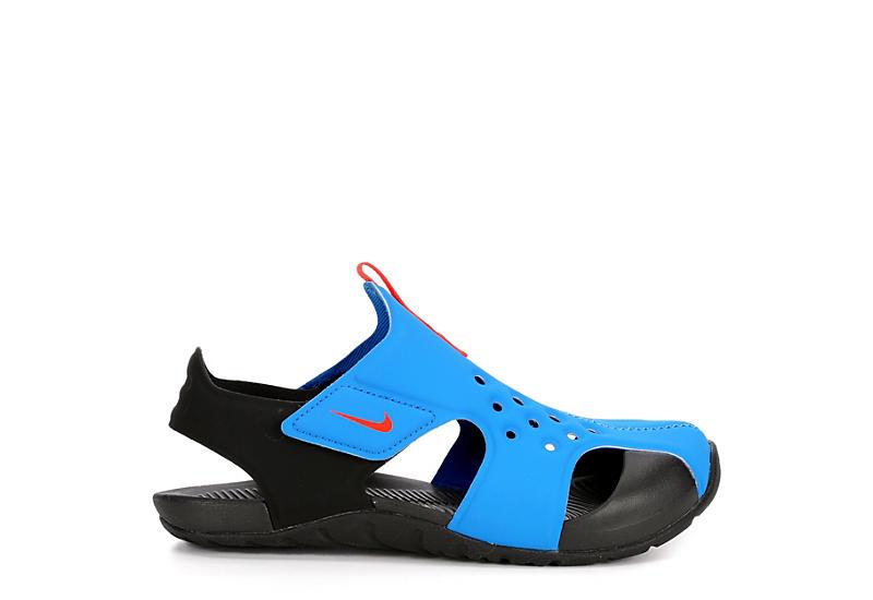 NIKE Boys Sunray Protect Outdoor Sandal - BLUE