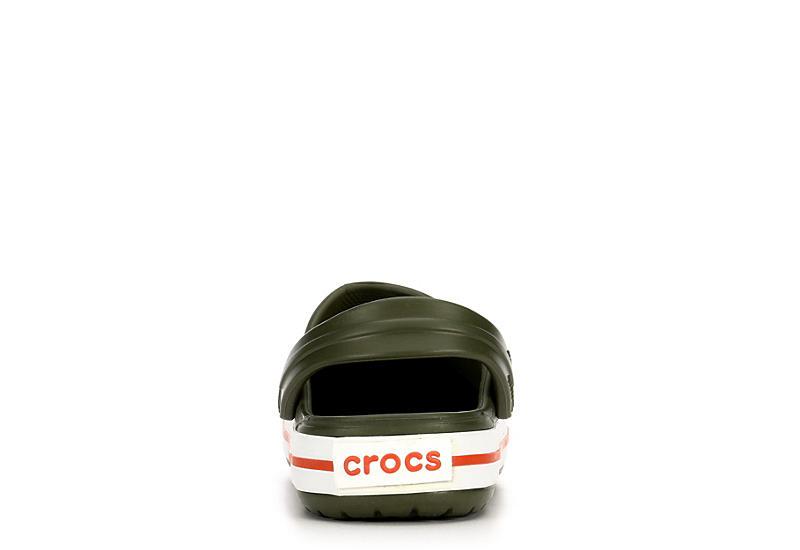CROCS Boys Classic Clog - OLIVE