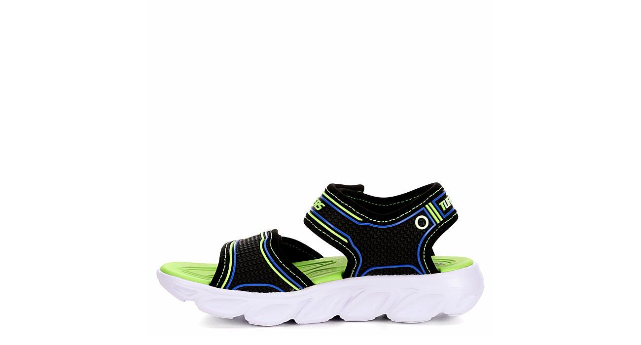 SKECHERS Boys Hypno Splash Outdoor Sandal - BLACK