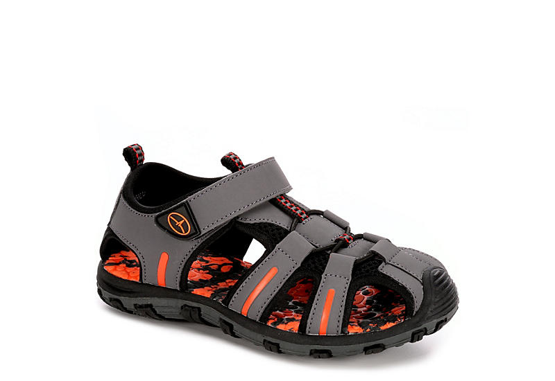 BLUEFIN Boys Sam Outdoor Sandal - GREY