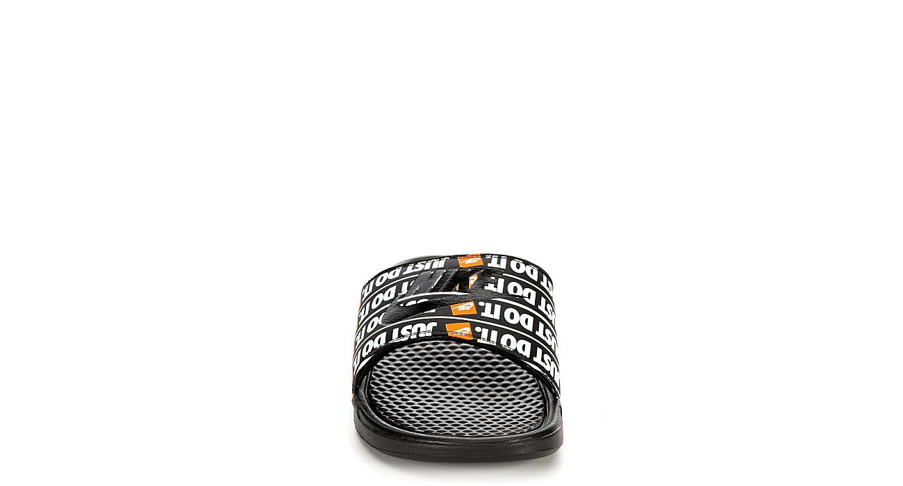 NIKE Boys Benassi Slide Sandal - BLACK