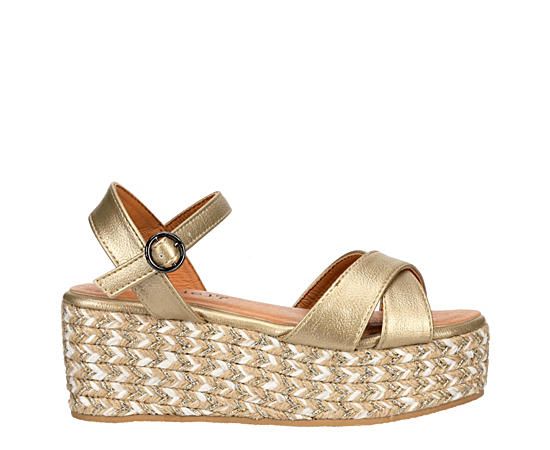 Girls Sp-daisy Platform Sandal