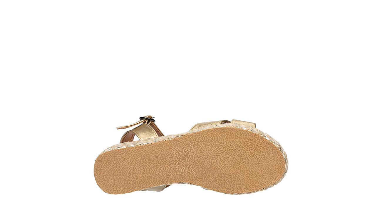 SOPHIE17 Girls Sp-daisy Platform Sandal - GOLD