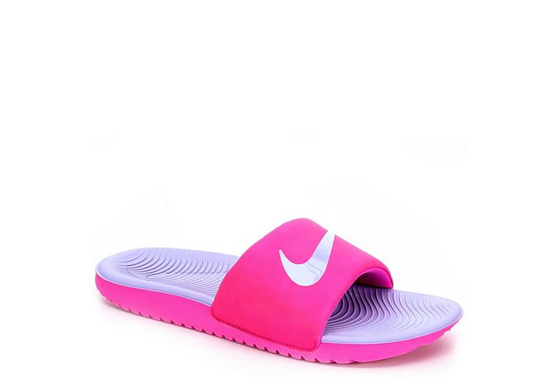 585a37c8b18 Nike Girls Kawa Slide - Fuschia