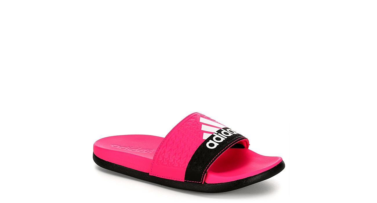 Adidas Girls Adilette - Pink d66359ed4