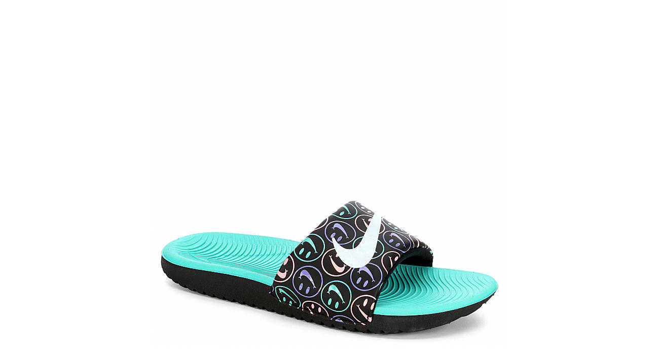 85c110b26b7a20 Nike Girls Kawa Print - Black