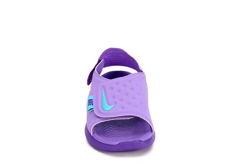 NIKE Girls Sunray Adjust Outdoor Sandal - PURPLE