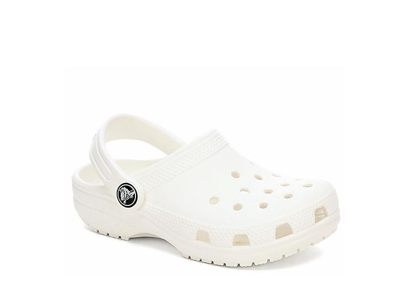 ce5d50a3db3e Crocs Girls Classic Clog - White