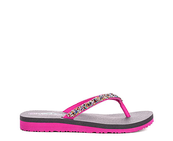 Girls Meditation - Sparkle Breeze Flip Flop Sandal