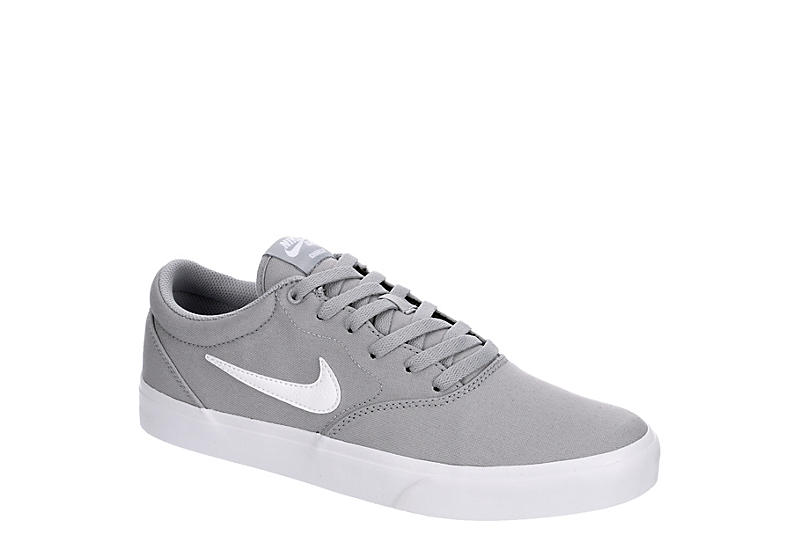 GREY NIKE Mens Sb Charge Low Sneaker