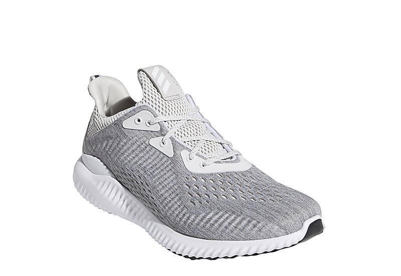 GREY ADIDAS Mens Alphabounce Running Shoe