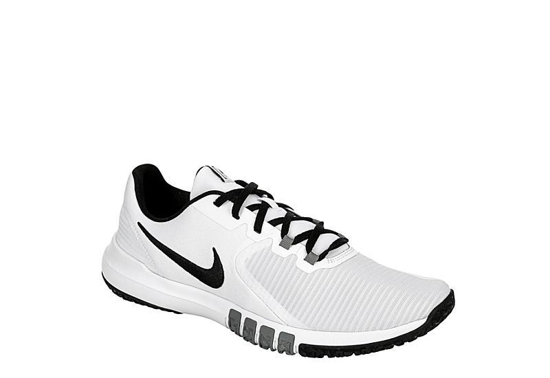WHITE NIKE Mens Flex Control 4 Training Shoe
