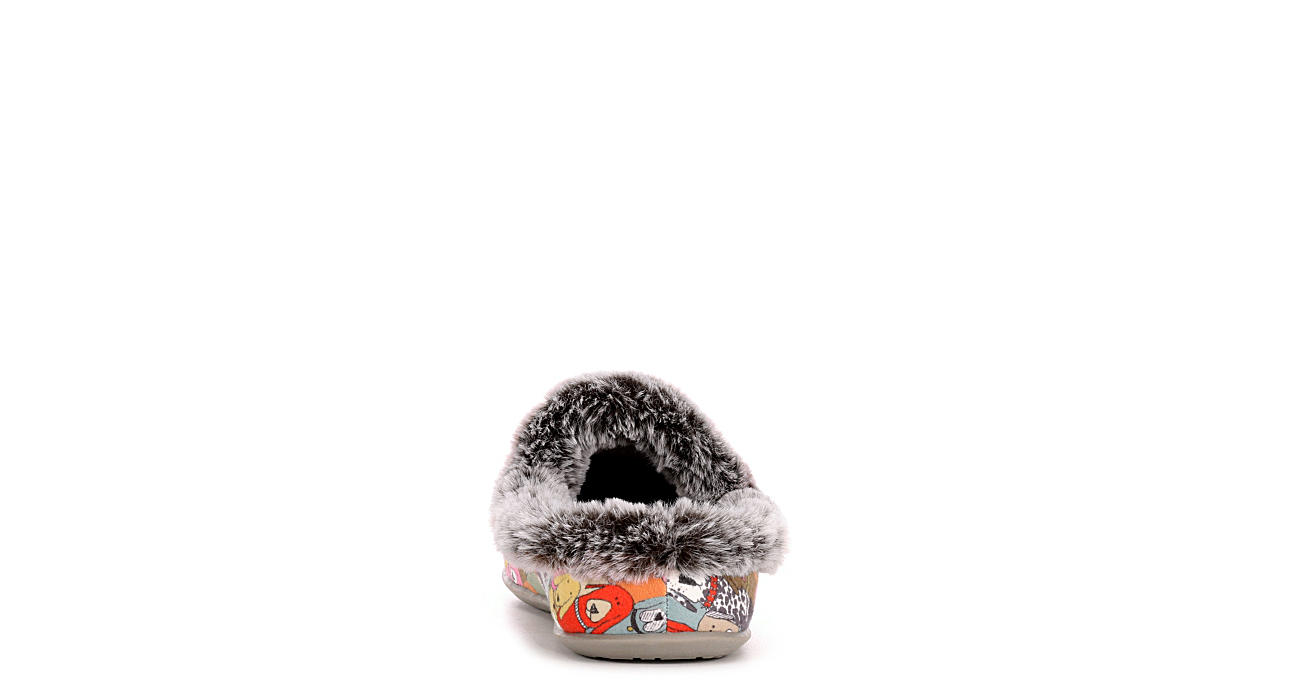SKECHERS BOBS Womens Cuddle Mutts - MULTICOLOR