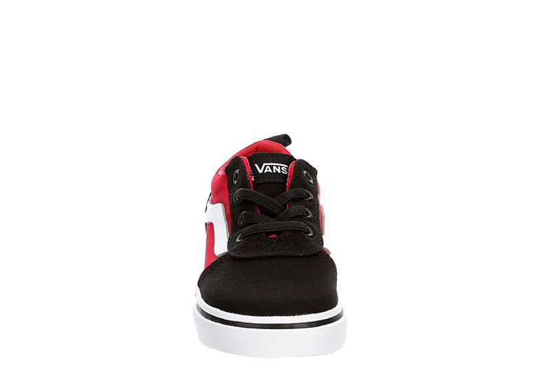 VANS Boys Infant Ward Slip On Sneaker - BLACK