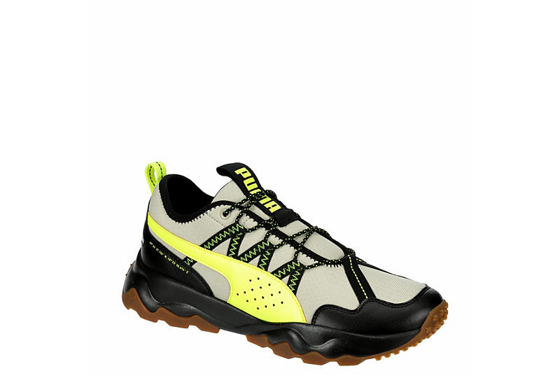 BEIGE PUMA Mens Ember Trail Running Shoe