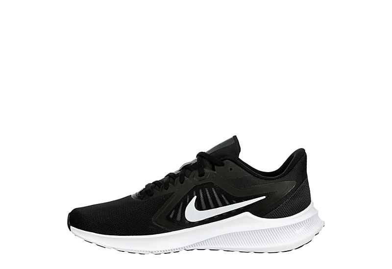 NIKE Mens Downshifter 10 Running Shoe - BLACK