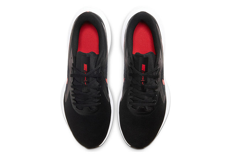 NIKE Mens Downshifter 10 Running Shoe - BLACK
