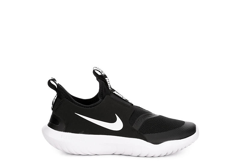 NIKE Boys Flex Runner - BLACK