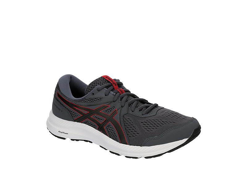 GREY ASICS Mens Gel Contend 7 Running Shoe