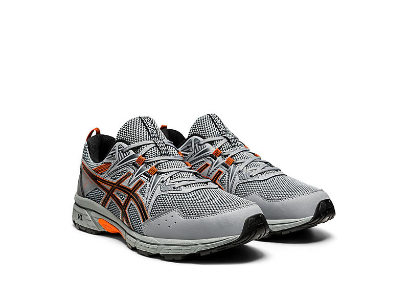GREY ASICS Mens Gel Venture 8 Running Shoe