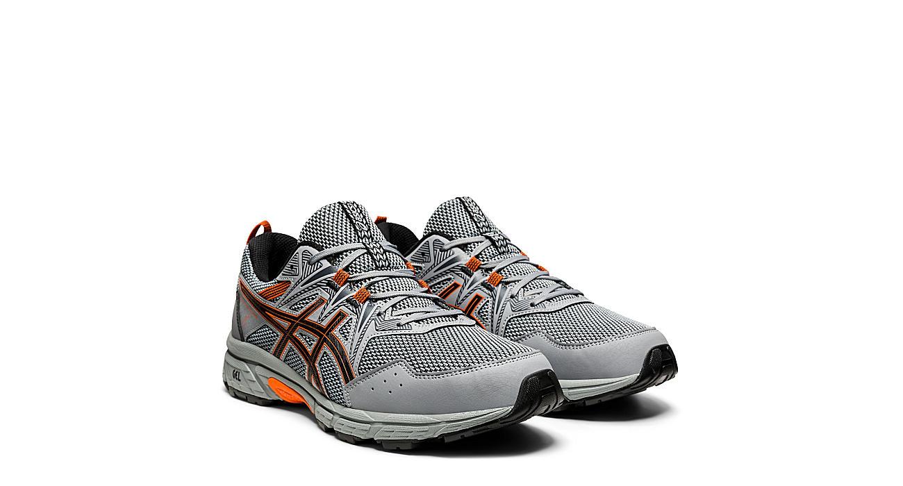 Asics Mens Gel Venture 8 Running Shoe - Grey
