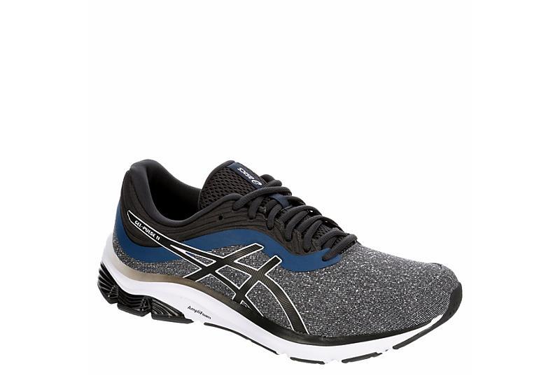 Dark Grey Asics Mens Gel Pulse 11 Mx Running Shoe | Athletic ...