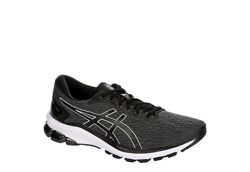 GREY ASICS Mens Gt 1000 9 Running Shoe