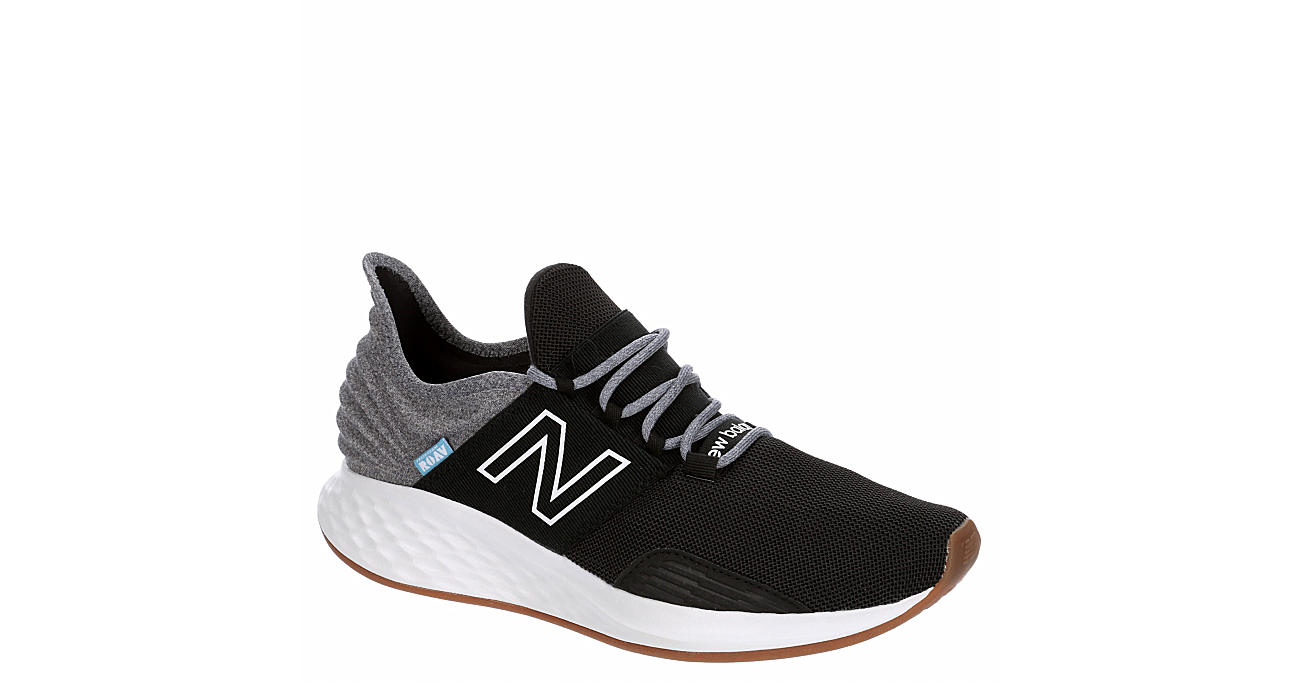 Black New Balance Mens Fresh Foam Roav Running Shoe | Athletic ...