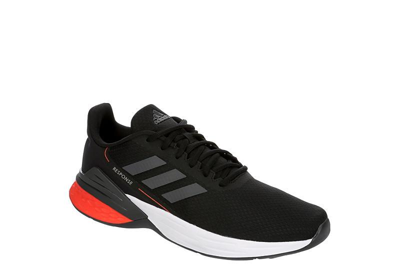 BLACK ADIDAS Mens Response Sr Running Shoe